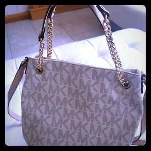 Michael Kors purse - long strap and chain handle